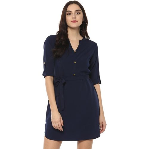Zima Leto Women's Shirt Blue Dress