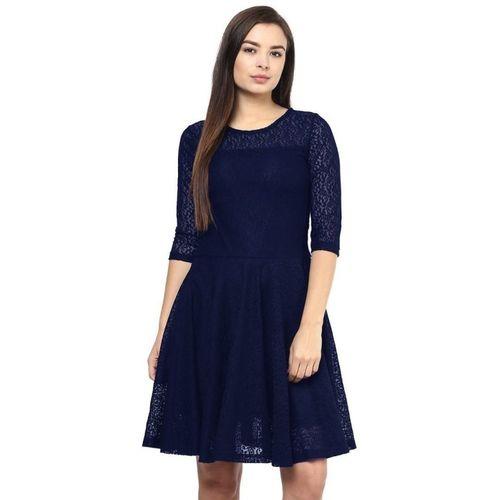 JD Retail Women's A-line Blue Dress