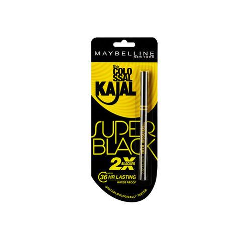 Maybelline New York Colossal Super Black Kajal 0.35g