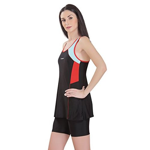 Rovars Female Swimwear with Cycling Shorts