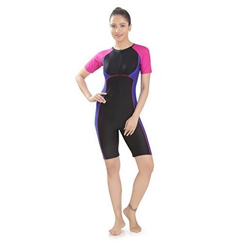 Rovars Female Padded Swimwear Kneesuit