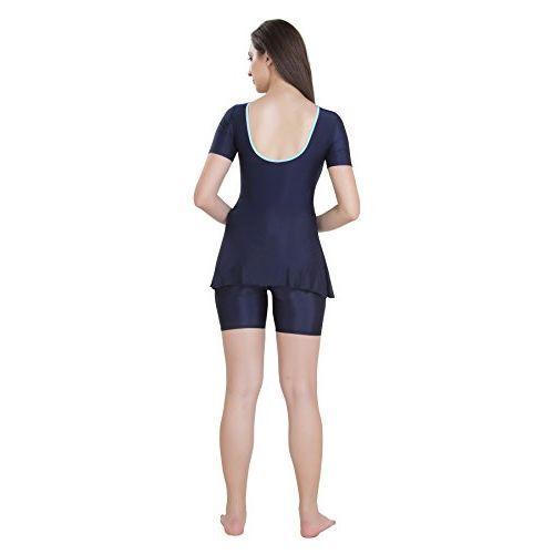Rovars Female Polyester Round Back Swimdress