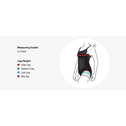 Speedo Female Swimwear 2 Piece Full Body Suit