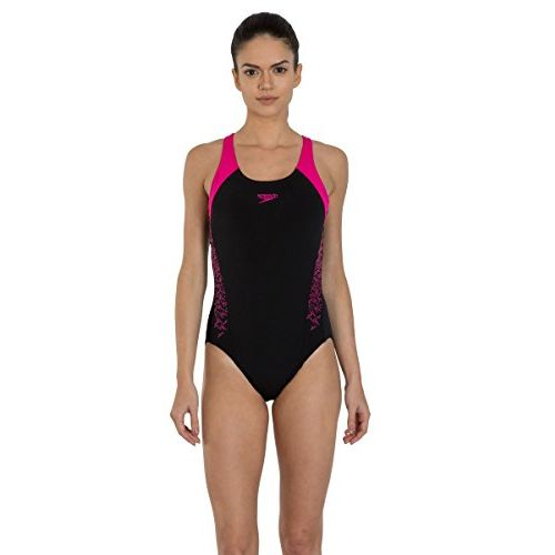Speedo Female Swimwear Boom Splice Racerback