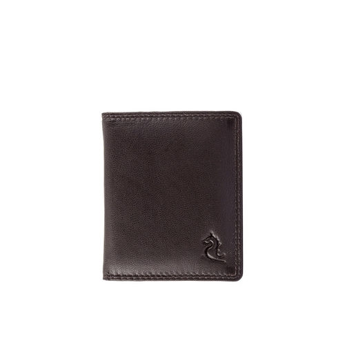Kara Men Brown Solid Card Holder
