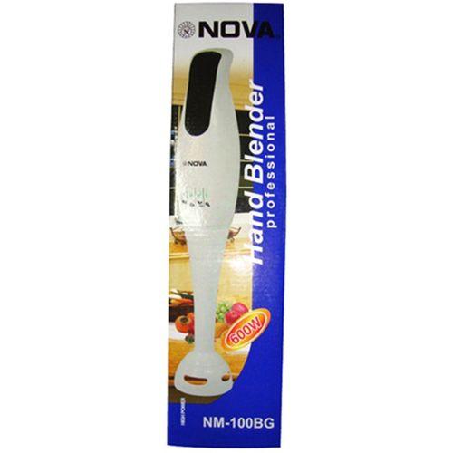 Nova Blazon NM-100BG 600 W Hand Blender(White)