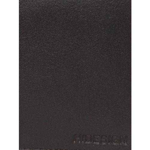 Hidesign Men Coffee Brown Solid Leather Zip Around Wallet