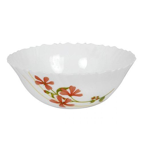 LaOpala La Opala Coral Charm Dinner Set, 35-Pieces, White/Red/Green