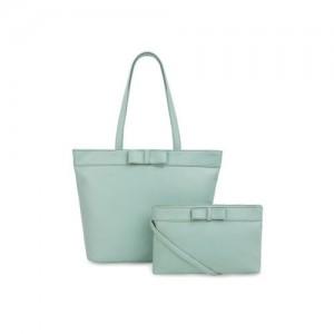 Toteteca Green Solid Shoulder Bag