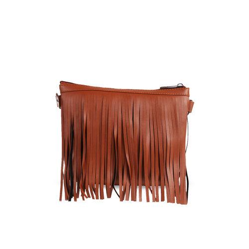 Toteteca Tan Solid Sling Bag