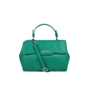 Toteteca Green Solid Sling Bag