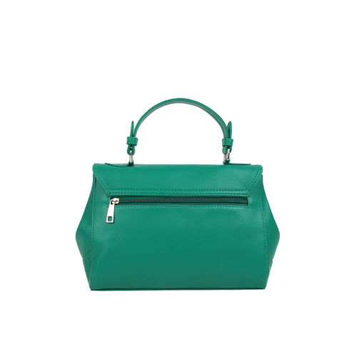 Toteteca Green Solid Sling Bag