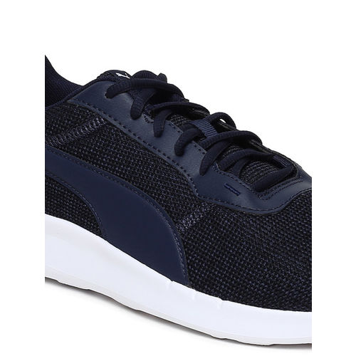 Puma Unisex Navy Blue ST Activate Heather Running Shoes