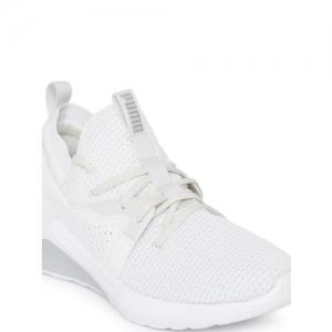 Puma Women White Emergence Cosmic Running Shoes