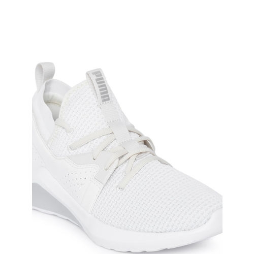Puma Women White Emergence Cosmic Running Shoes