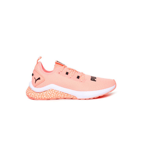 Puma Women Peach-Colored Hybrid NX Running Shoes