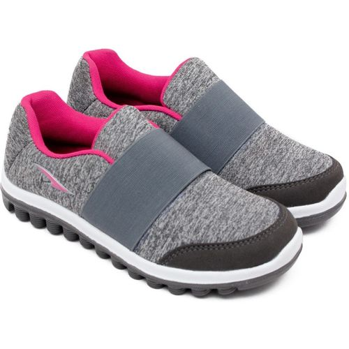 Asian Sketch-23 Grey Pink Walking Shoes,Gym Shoes,Canvas Shoes,Training Shoes,Sports Shoes, Running Shoes For Women(Grey)