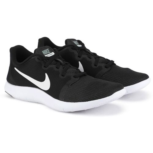 best authentic 3d341 153bd Buy Nike WMNS NIKE FLEX CONTACT 2 Running Shoes For Women(Black) online   Looksgud.in