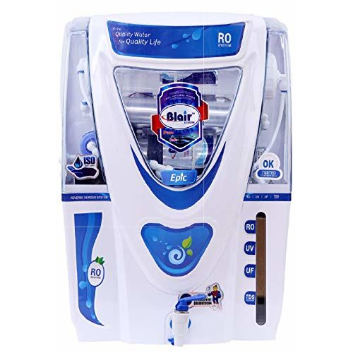 BLAIR Epic Grand RO UV UF TDS 17 LTR Water Purifier (White)