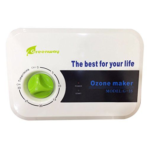 Greenway Ozone Maker - Multifunction Ozonizer Vegetable and Fruit Purifier and Sanitizer (Plastic, Green, 13inch)
