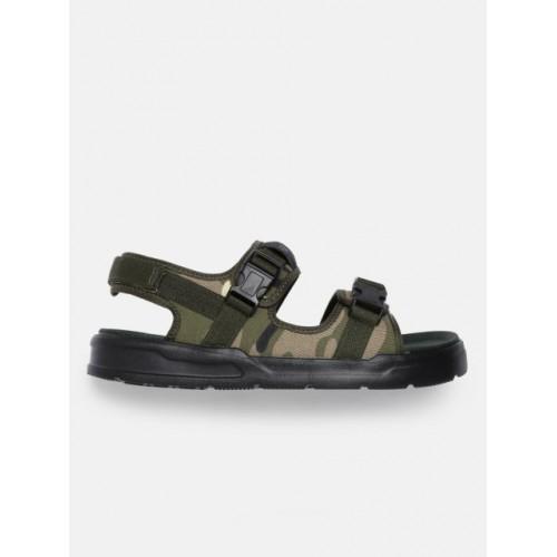 HRX by Hrithik Roshan Men Olive Green Sports Sandals
