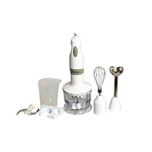 WisTec Blender Chopper & Whisker (White)