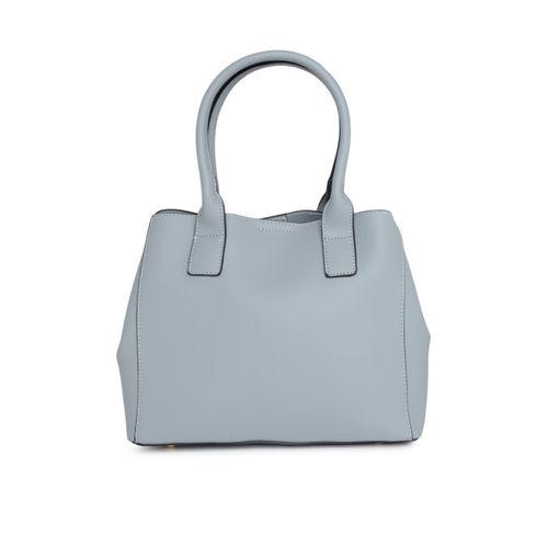 DressBerry Blue Solid Handheld Bag
