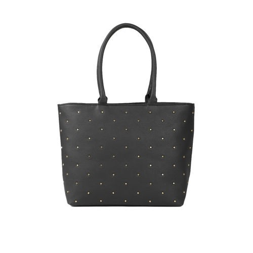 DressBerry Black Embellished Shoulder Bag