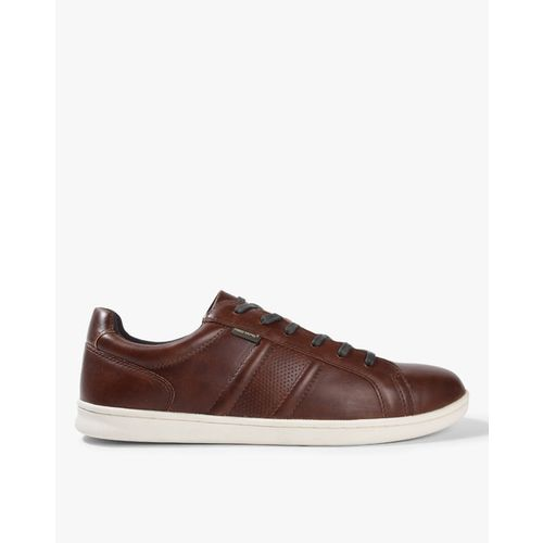 RED TAPE Panelled Lace-Up Sneakers