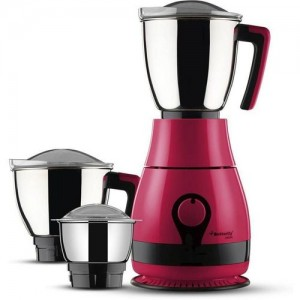 Butterfly Pebble Plus 3 Jar Mixer Grinder, 750 Watts. 750 W Juicer Mixer Grinder(candy Pink, 3 Jars)