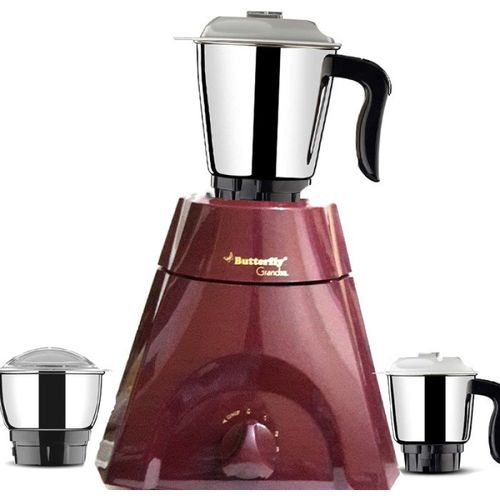 Butterfly Grand XL Cherry Red 500 Mixer Grinder(Red, 3 Jars)