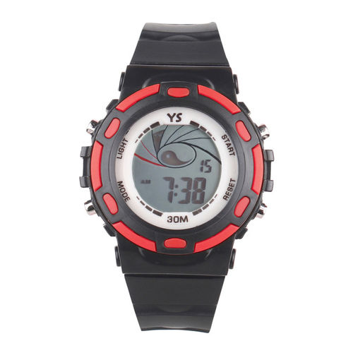 Fantasy World Unisex Black Digital Watch FW-YS-03-RD01
