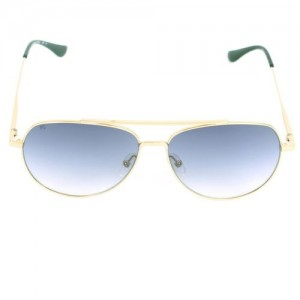 French Connection Aviator Sunglasses(Blue)