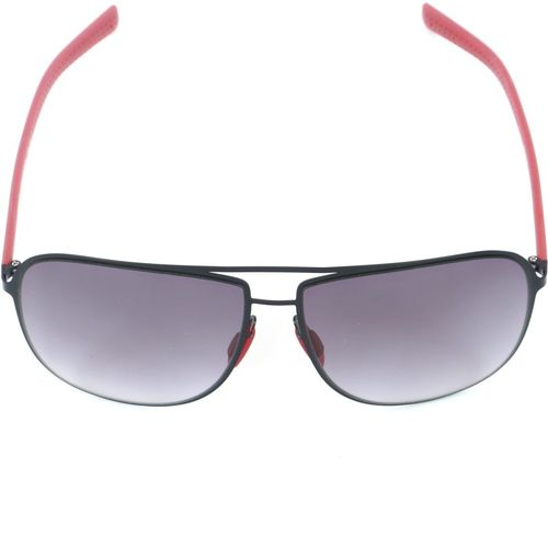 French Connection Retro Square Sunglasses(Grey)