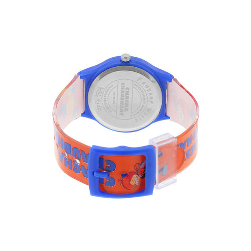 Fantasy World Kids Orange & Blue Analogue Watch FW-3001-S.BL01