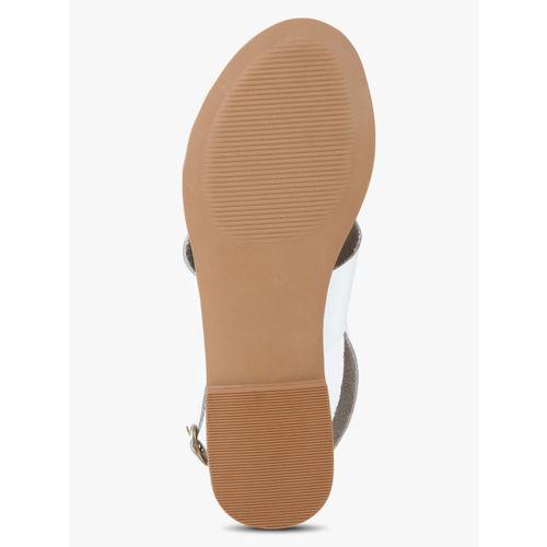 Steve Madden White Sandals