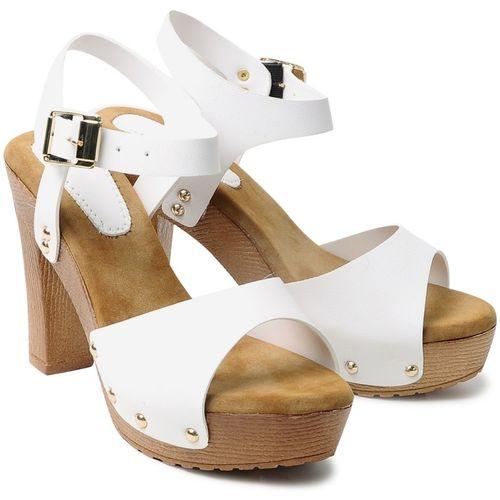 Klaur Melbourne Women White Heels