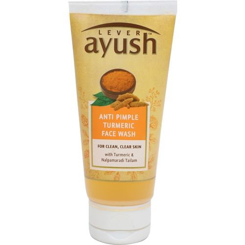 Lever Ayush Pimple Clear Turmeric Face Wash(40 g)