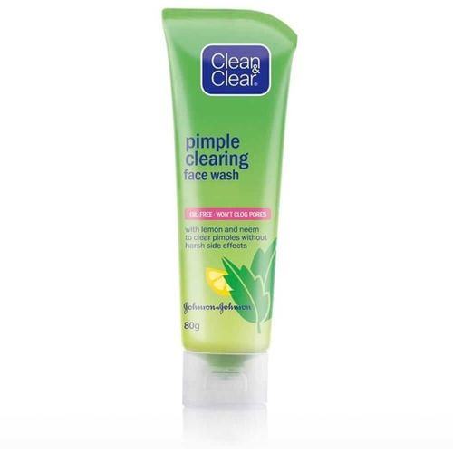 Clean & Clear Pimple Clearing Face Wash(80 g)