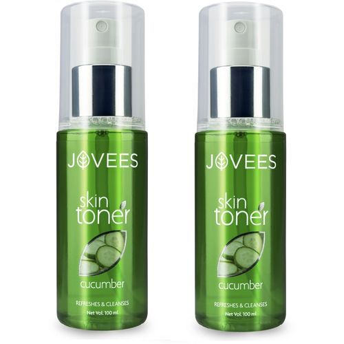 Jovees Cucumber Skin Toner Pack of 2(200 ml)