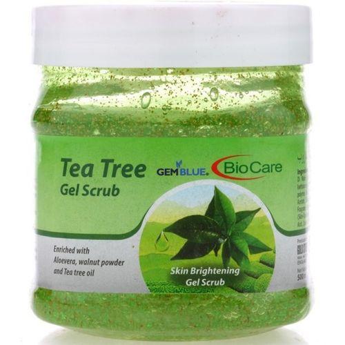 Gemblue Biocare Tea Tree Skin Brightening Gel Scrub(500 ml)