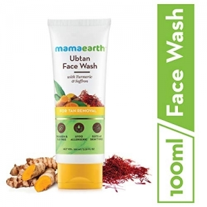 Mamaearth Ubtan Natural Face Wash for Dry Skin 100 ml