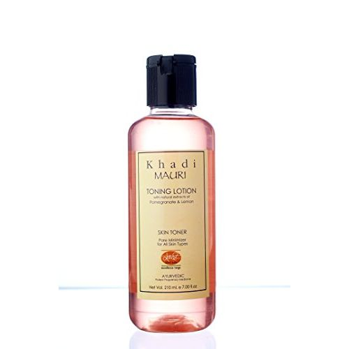 Khadi Mauri Cleansing and Toning Lotion with Pomegranate and Lemon Extracts, 210ml