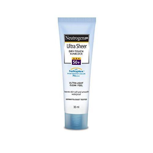 Neutrogena Ultra Sheer Dry Touch Sunblock (SPF 50+ Sunscreen) 30ml