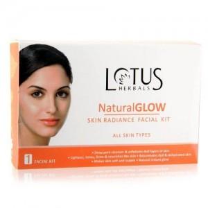 Lotus Herbals Natural Glow Kit Skin Radiance 1 Facial Kit