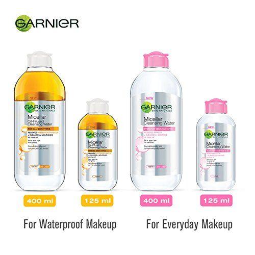 Garnier Skin Naturals Micellar Cleansing Bi Phase Water, 400ml