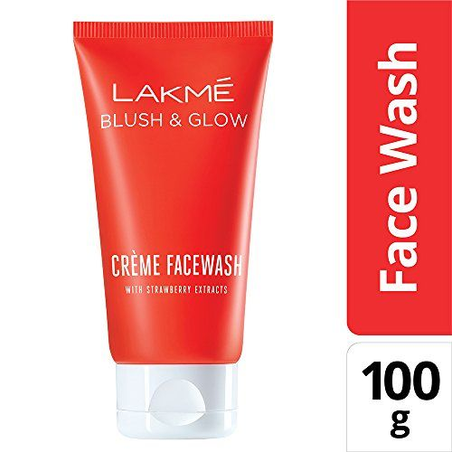 Lakmé Lakme Strawberry Creme Face Wash, 100g