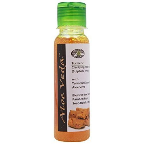 Aloe Veda Turmeric Clarifying Face Wash, Herbal, 100ml