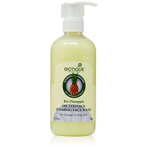 Biotique Bio Pineapple Oil Control Foaming Face Wash, 300ml