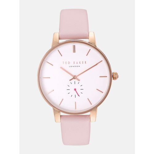 Ted Baker Women White Analogue Watch TE50310003